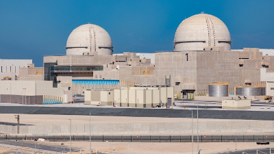 The Barakah nuclear power plant in Abu Dhabi (Image: ENEC)