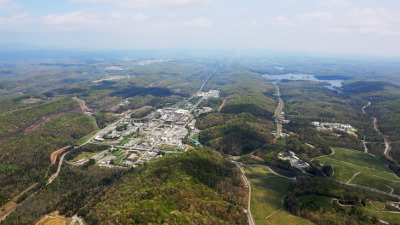 An aerial photo of Oak Ridge National Laboratory (Image: ORNL)