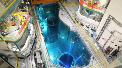 Fuel loading operations get under way at Fuqing 5 (Image: CNNC)