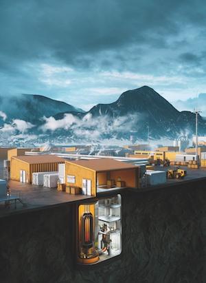 Ultra Safe Nuclear Corporation's Micro Modular Reactor. Source: neimagazine.com